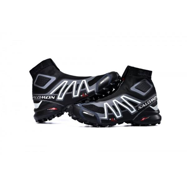 Salomon Snowcross CS Trail Running Shoes Black Gray,Salomon Fashion Designer