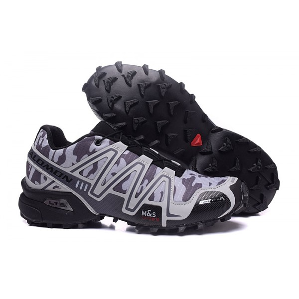 Salomon Speedcross 3 CS Trail Running Shoes Black Camouflage For Men