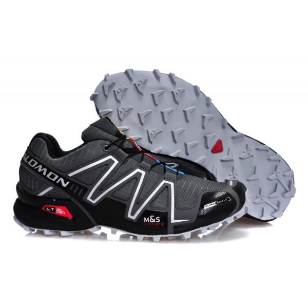 Salomon Speedcross 3 CS Trail Running Shoes Deep Gray For Men