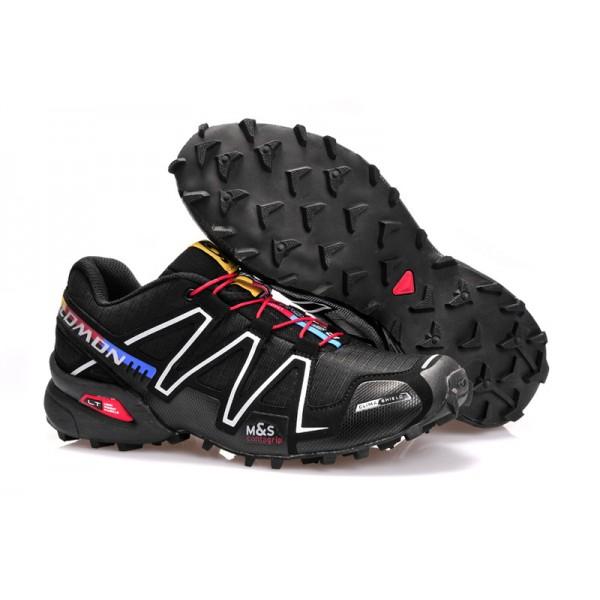 Salomon Speedcross 3 CS Trail Running Shoes Silver Black For Men