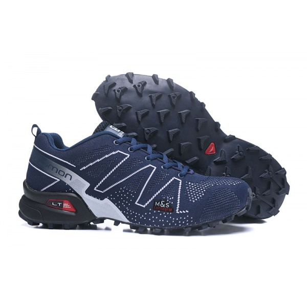 Salomon Speedcross 3 Adventure Shoes Blue White,Exclusive Range Salomon
