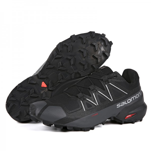 Salomon Speedcross 5 GTX Trail Running Shoes Black,Salomon For Sale