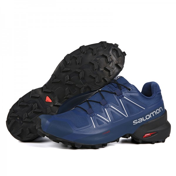 Salomon Speedcross 5 GTX Trail Running Shoes Deep Blue,Salomon Reliable Supplier