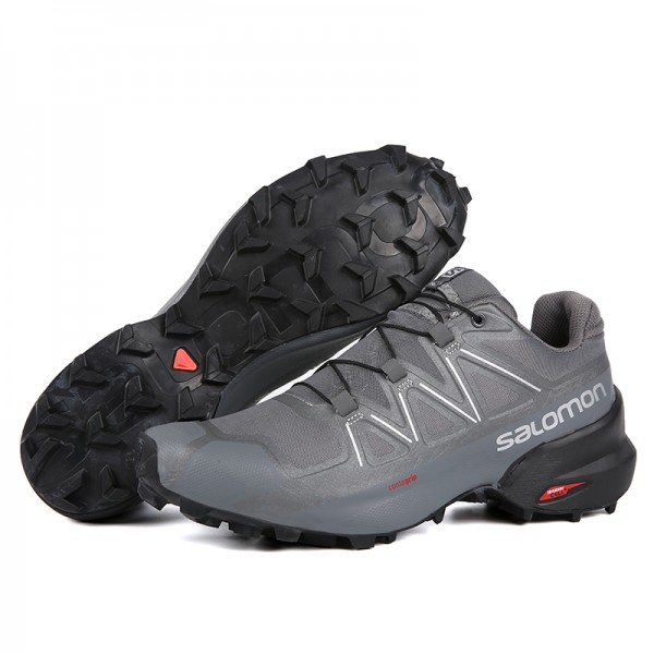 Salomon Speedcross 5 GTX Trail Running Shoes Full Gray,High-Tech Salomon