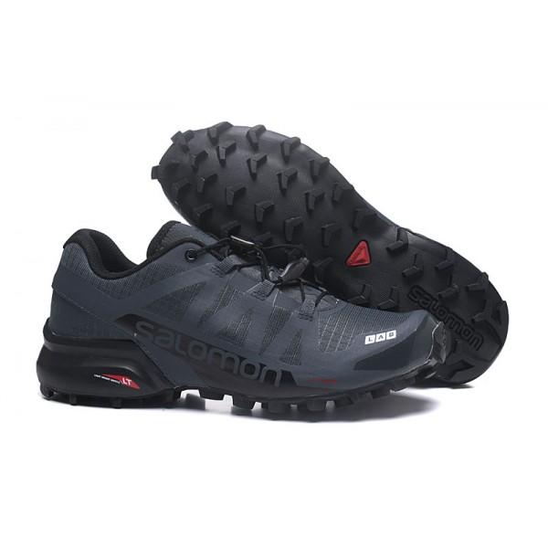 Salomon Speedcross Pro 2 Trail Running Shoes Deep Gray For Men