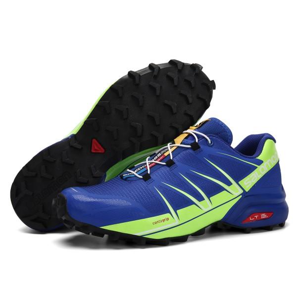Salomon Speedcross Pro Contagrip Shoes Blue Fluorescent,Clothing Salomon Store Online