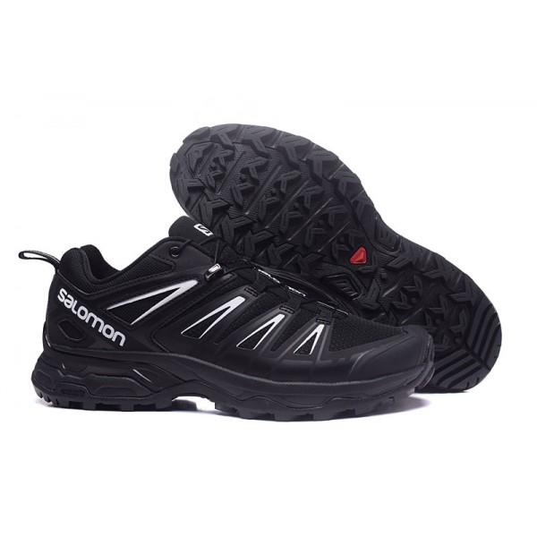 Salomon X ULTRA 3 GTX Waterproof Shoes Black Silver,Salomon Authentic Quality